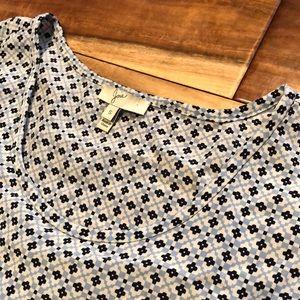 Joie silk sleeveless top small